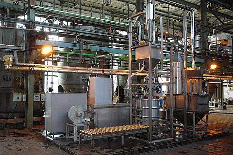 Sušárna uranového koncentrátu 2009