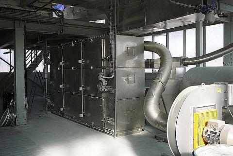 Sušárna katalyzátoru PS 3 B 2008